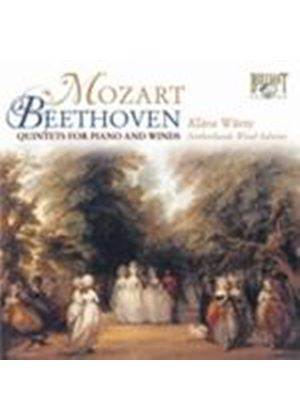 Mozart; Beethoven: Quintets for Piano & Winds (Music CD)