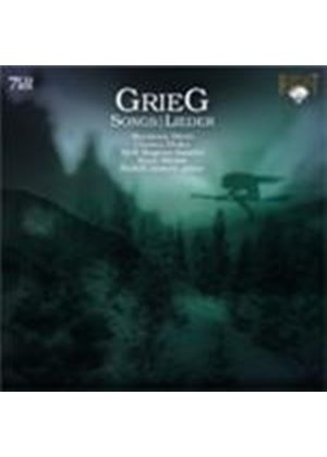 Grieg: Complete Songs (Music CD)