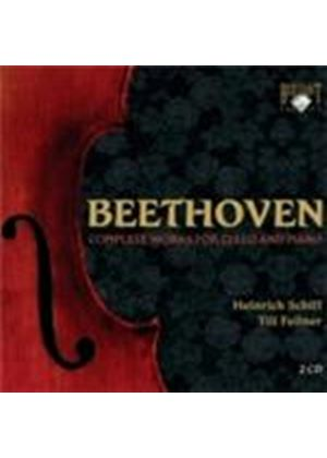 Beethoven: Complete Works for Cello and Piano (Music CD)