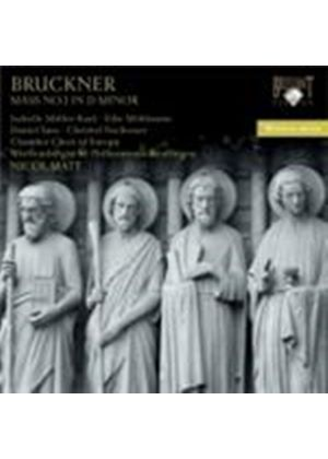 Bruckner: Mass No 1 in D Minor (Music CD)