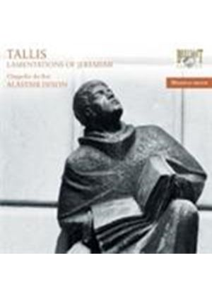Tallis: (The) Lamentations of Jeremiah (Music CD)
