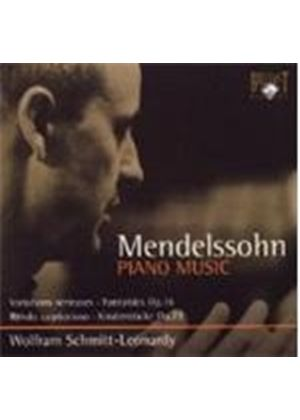 Mendlessohn: Piano Works (Music CD)