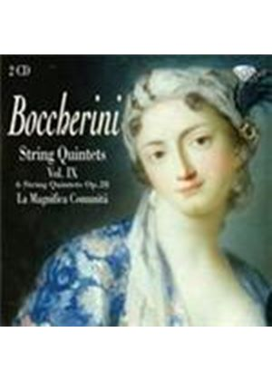 Boccherini: String Quintets Vol 9 (Music CD)