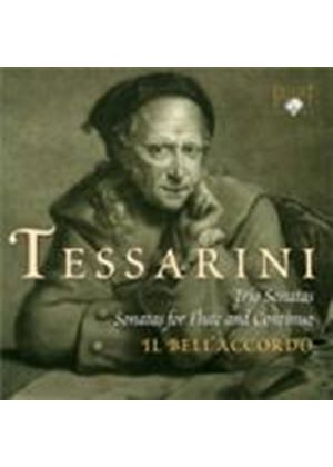 Tessarini: Trio Sonatas Op. 12; Two Sonatas for Flute and Continuo (Music CD)