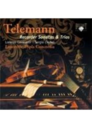 Telemann: Recorder Sonatas; Trios (Music CD)