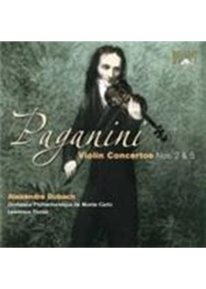 Paganini: Violin Concertos Nos 2 and 5 (Music CD)