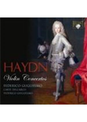 Haydn: Violin Concertos Nos 1, 3 and 4 (Music CD)