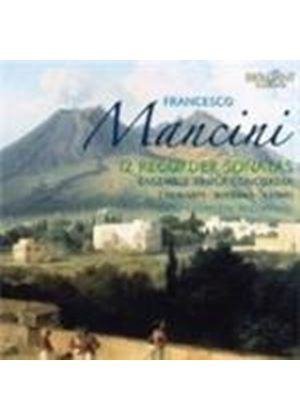 Mancini: (12) Recorder Sonatas (Music CD)