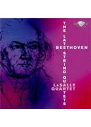 Beethoven: Late String Quartets (Music CD)