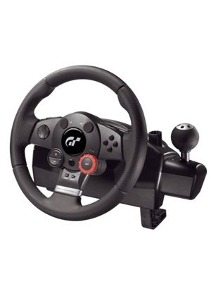 Logitech Driving Force GT - Wheel, pedals and gear shift lever set - Sony PlayStation 2, Sony PlayStation 3
