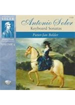 Soler: Keyboard Sonatas, Vol 4 (Music CD)