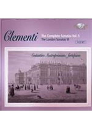 Clementi: Complete Sonatas, Vol 5 (Music CD)