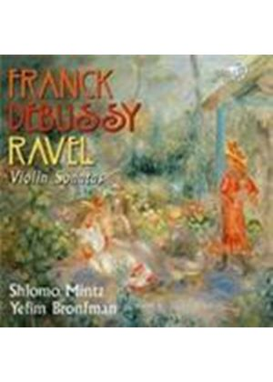 Debussy; Franck; Ravel: Violin Sonatas (Music CD)