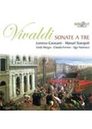 Vivaldi: Sonate a tre (Music CD)