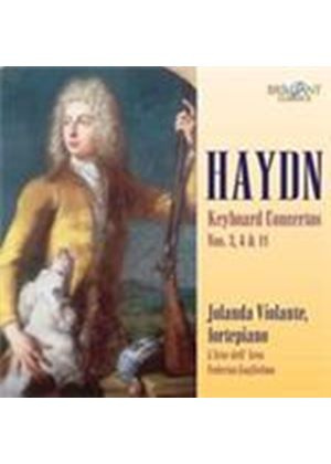 Haydn: Keyboard Concertos Nos 3, 4 and 11 (Music CD)