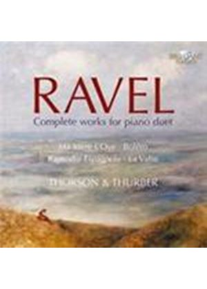 Ravel: Complete Piano Duet Works (Music CD)