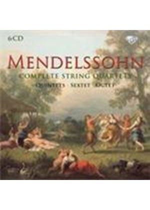 Mendelssohn: Complete Chamber Works for Strings (Music CD)