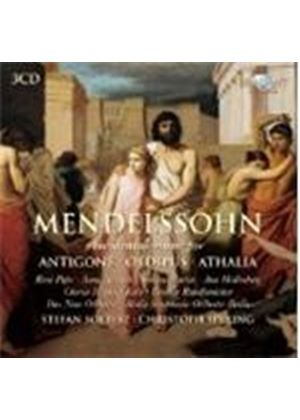 Mendelssohn: Incidental Music for Antigone, Oedipus, Athalia (Music CD)