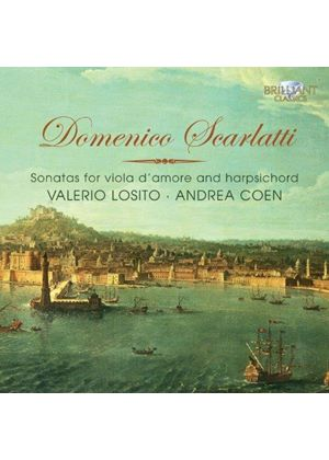 Domenico Scarlatti: Sonatas for Viola d'Amore & Harpsichord (Music CD)