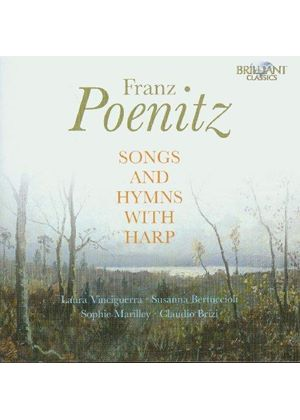 Franz Poenitz: Songs and Hymns with Harp (Music CD)