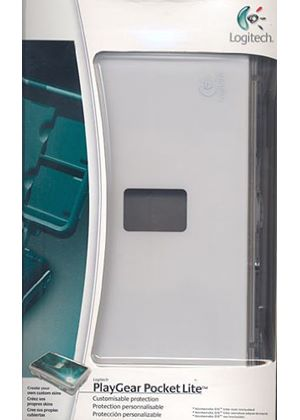 Logitech PlayGear Pocket Lite - Case for game console - polycarbonate - Nintendo DS Lite