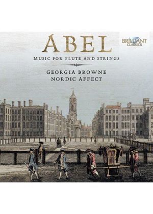 Carl Friedrich Abel: Music for Flute and Strings (Music CD)