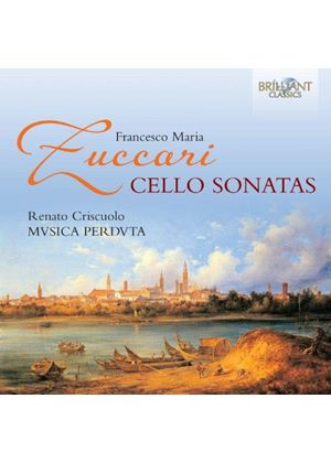 Francesco Maria Zuccari: Cello Sonatas (Music CD)