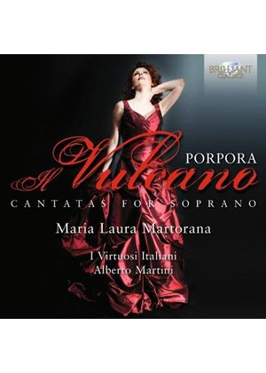Nicola Porpora: Cantatas for Soprano (Music CD)