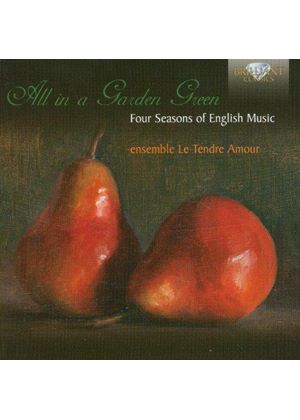 All in a Garden Green: Four Seasons of English Music (Music CD)