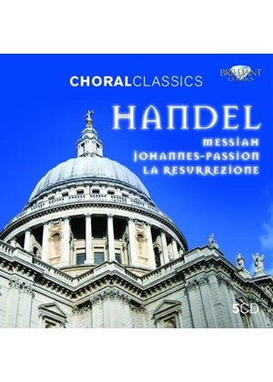 Handel: Messiah; Johannes-Passion; La Resurrezione (Music CD)