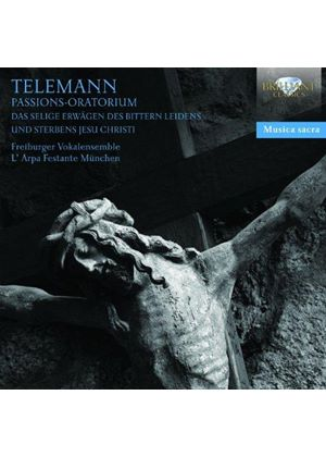 Telemann: Passions-Oratorium (Music CD)