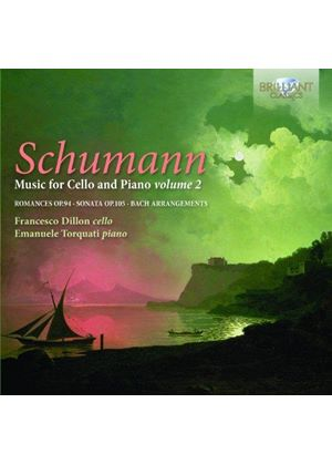 Schumann: Music for Cello and Piano, Vol. 2 (Music CD)