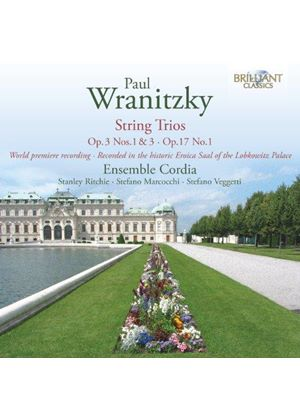 Paul Wranitzky: String Trios (Music CD)