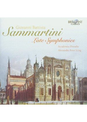 Sammartini: Late Symphonies (Music CD)