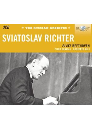 Sviatoslav Richter plays Beethoven (Music CD)