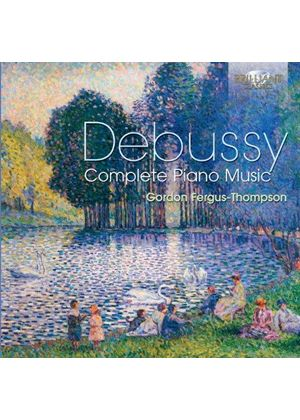 Debussy: Complete Piano Music (Music CD)