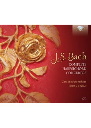 Bach: Complete Harpsichord Concerto (Music CD)