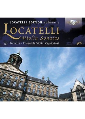 Pietro Antonio Locatelli: Trio Sonatas, Vol. 2 (Music CD)