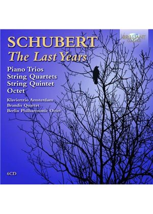 Schubert: The Last Years (Music CD)