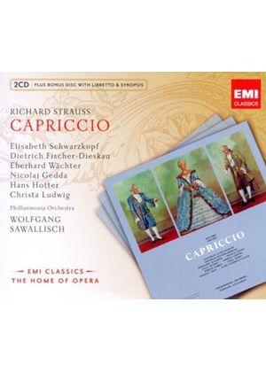 Richard Strauss: Capriccio (Music CD)