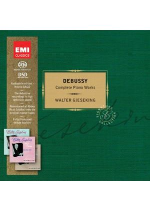 Debussy: Complete Works [Limited Edition] [SACD] (Music CD)