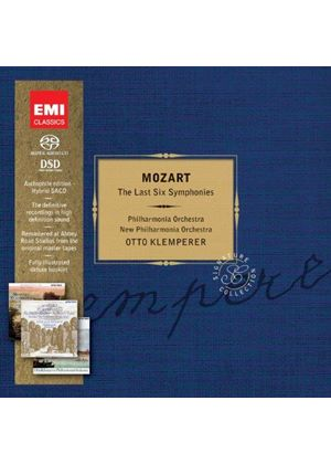 Mozart: Late Symphonies [Limited Edition] [SACD] (Music CD)
