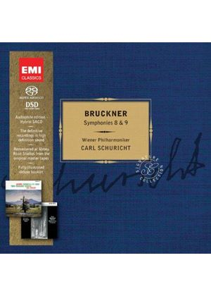 Bruckner: Symphonies No.8 & 9 [Limited Edition] [SACD] (Music CD)