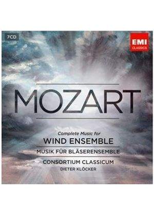 Mozart: Complete Music for Wind Instruments (Music CD)