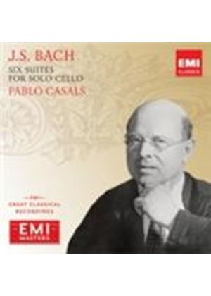 Bach: Six Suites for Solo Cello (Music CD)