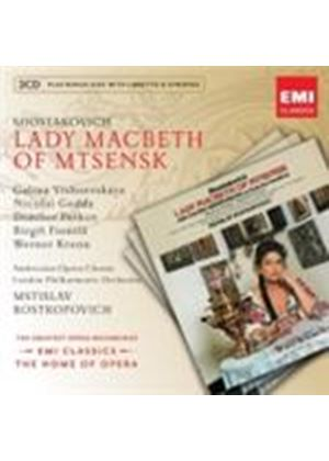 Shostakovich: Lady Macbeth of Mtsensk (Music CD)
