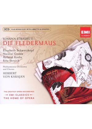 Strauss, J II: (Die) Fledermaus (Music CD)