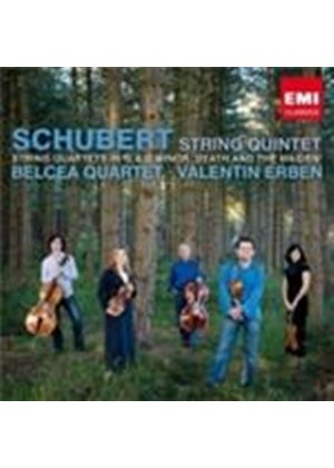 Schubert: String Quintet; Quartet in G; Quartet in D Minor (Music CD)