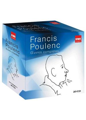 Poulenc: Oeuvres complètes (Complete works) (Music CD)