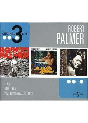 Robert Palmer - Clues/Double Fun/Some Guys Have All The Luck (Music CD)